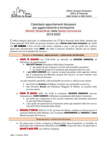 Programma Ministri Comunione