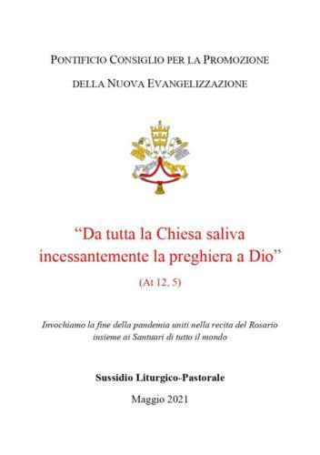 Rosario di Maggio di Papa Francesco